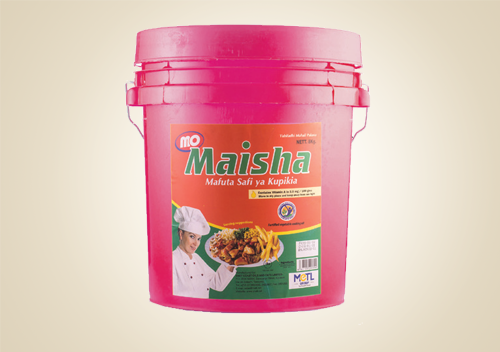 MO MAISHA COOKING OIL 17 KG